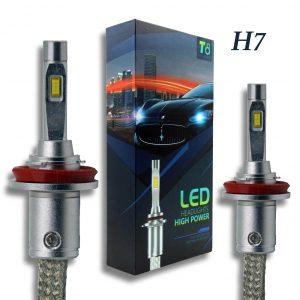 H7 T8 LED Headlight Set